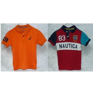 Boys set of 2 items Nautica Tops Short Sleeves L-7